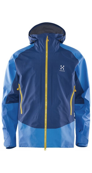 Haglöfs M's Roc Hard Jacket Vibrant Blue/Hurricane Blue